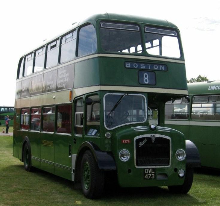 Classic Bristol FS double deck bus