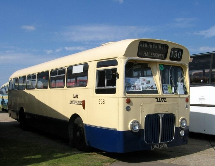 WTL West Midlands classic bus