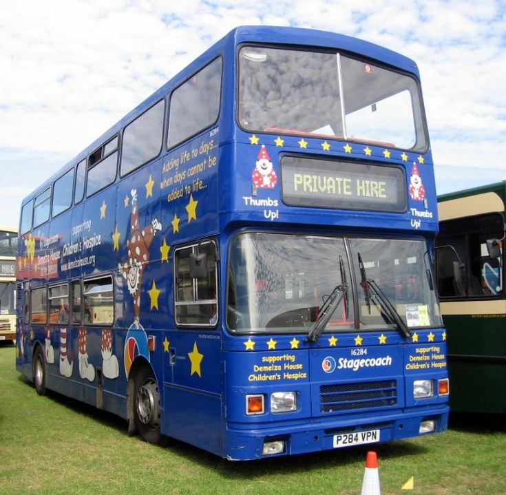 Stagecoach bus with Children's Hospice livery