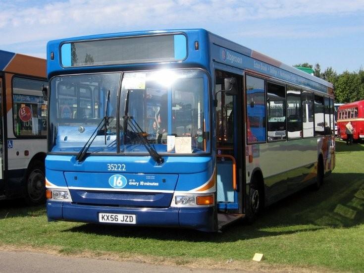 Stagecoach single deck bus 35222