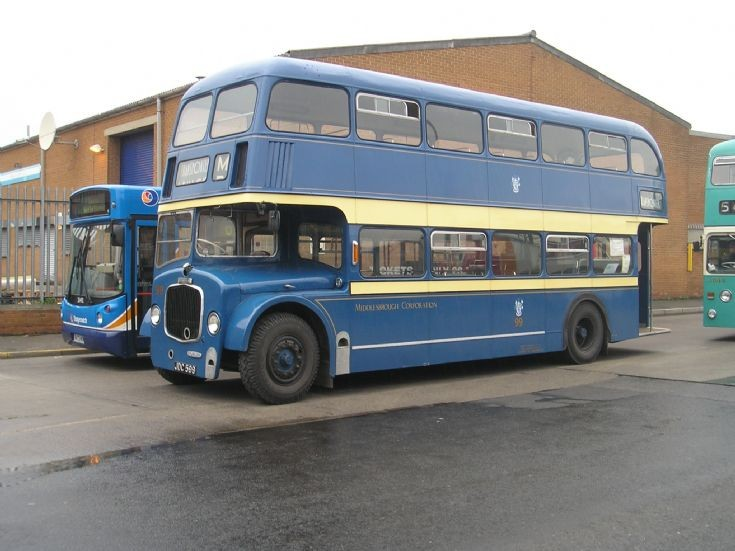 Restored Dennis Loline double deck bus