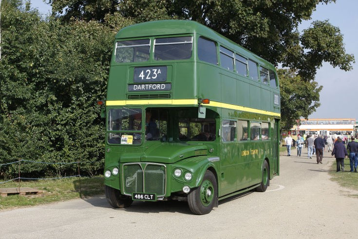 Green 1962 built AEC Routemaster