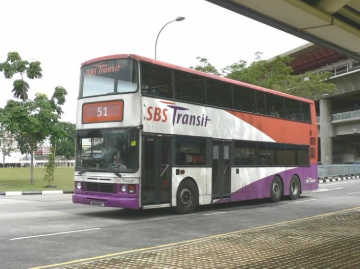 SBS Transit Leyland Olympian