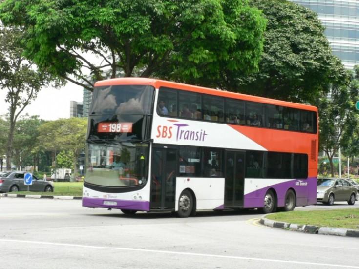 SBS Transit Volvo B9TL double deck bus