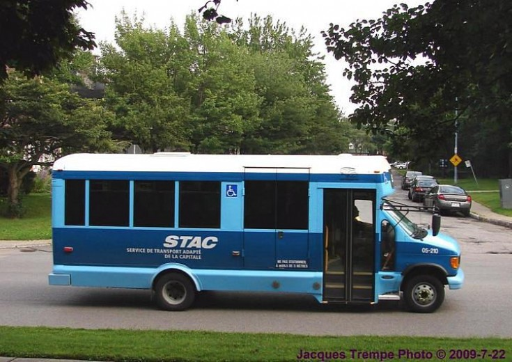 Unknown bus from STAC