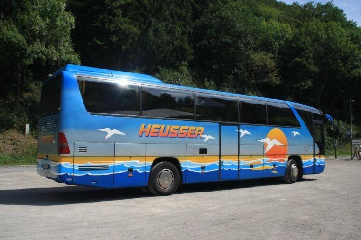 Heusser Mercedes coach