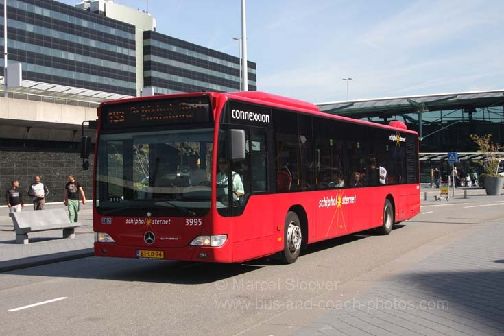 Mercedes Citaro at Schiphol