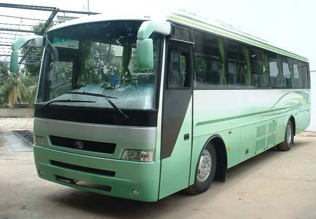 Eicher bus in India