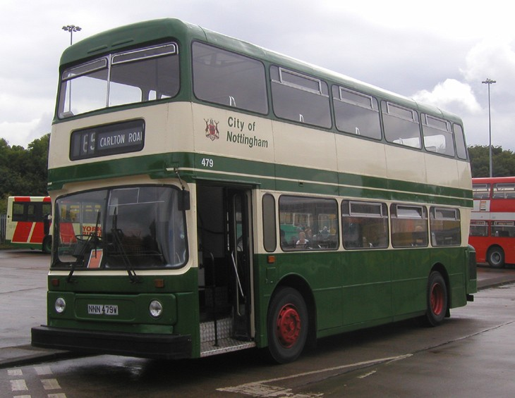 CITY OF NOTTINGHAM ATLANTEAN - NNN479W