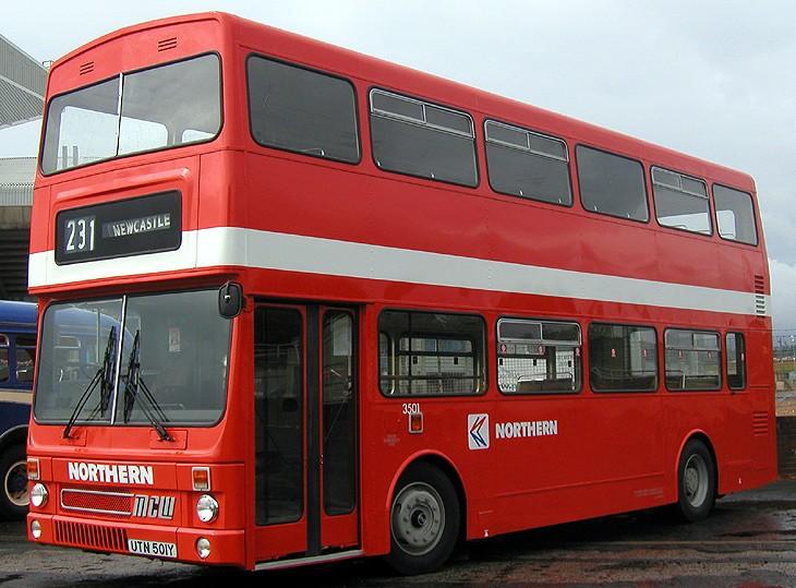 Northern Metrobus - UTN501Y