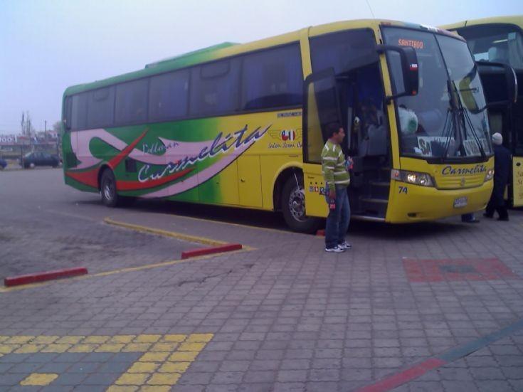 Buses Pullman Carmelita, Chile