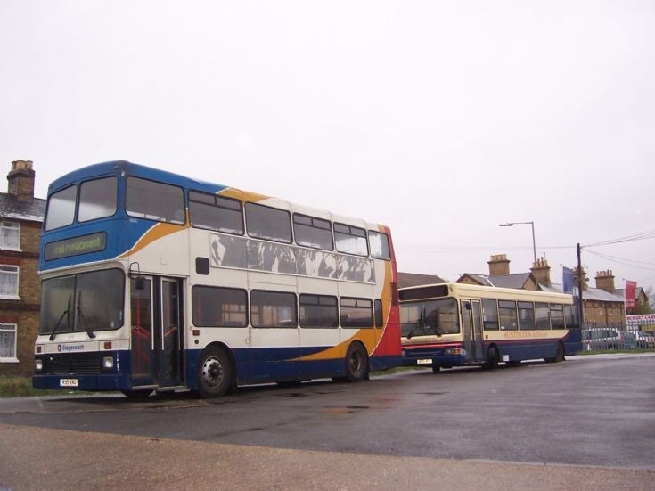 Stagecoach double deck bus R95XNO