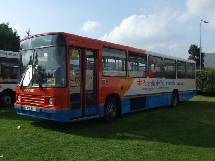 Southwest bus at Showbus, Duxford