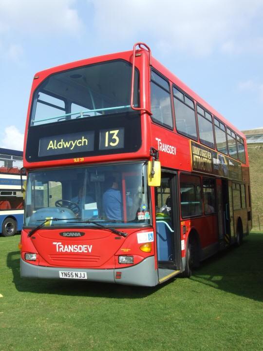 Transdev line 13 Aldwych