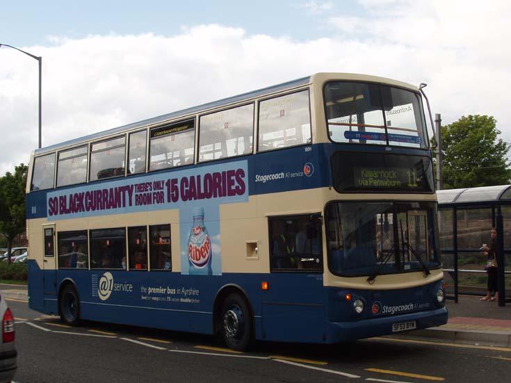 Stagecoach A1 Service line 11 Kilmarnock