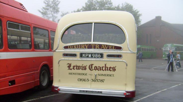 Lewis Coaches Bedford OB KPW986
