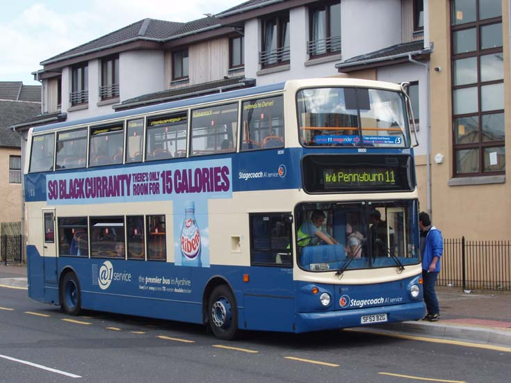 Stagecoach A1 bus service 11 Pennyburn