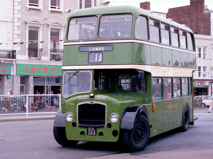 Southern Vectis destined for Cowes