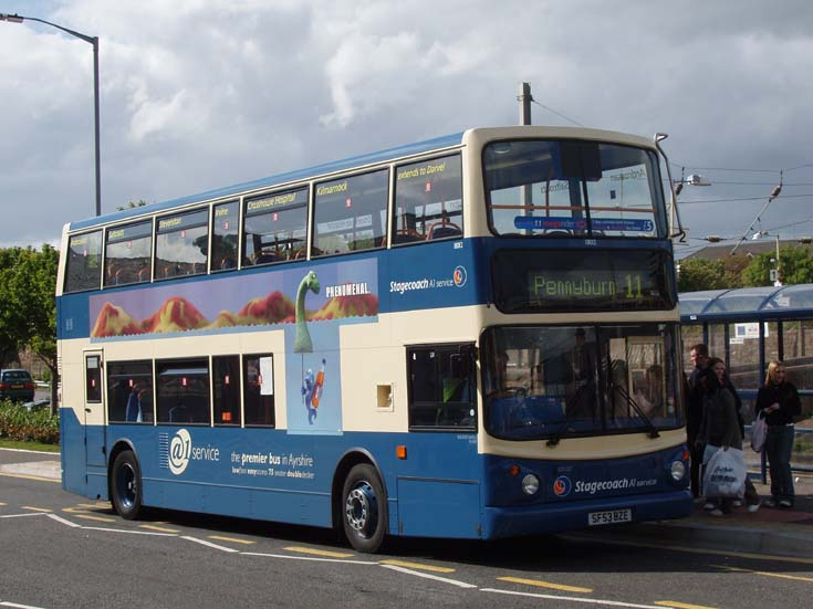 Stagecoach A1 double decker bus 11 Pennyburn