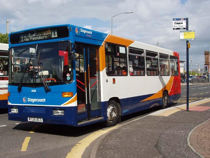 Stagecoach city bus 11 Ardrossan via Pennyburn