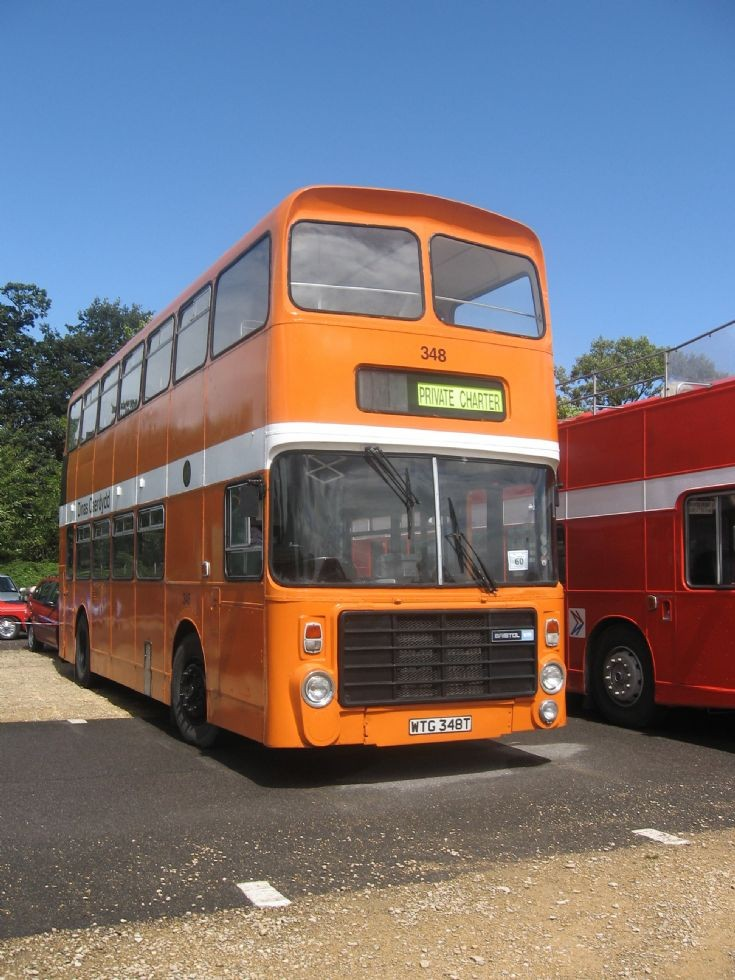 Cardiff Bus Bristol VR 348