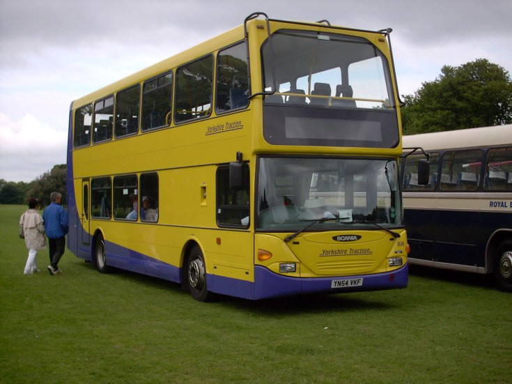 Yorkshire Traction Scania double decker
