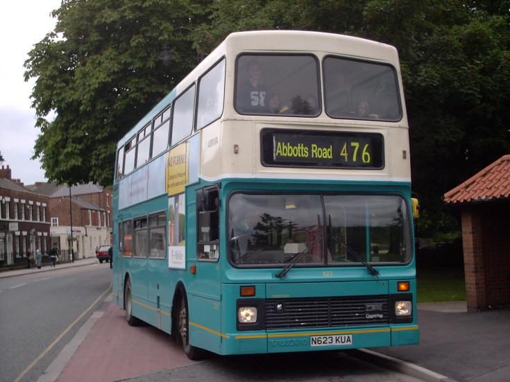 Arriva Volvo Olympian bus