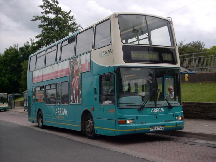 Arriva Volvo double deck bus