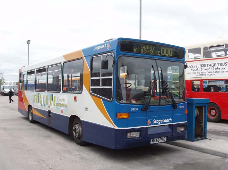Photo of a Stagecoach Lancaster bus at depot