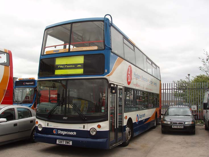 Stagecoach Dennis Trident double decker bus