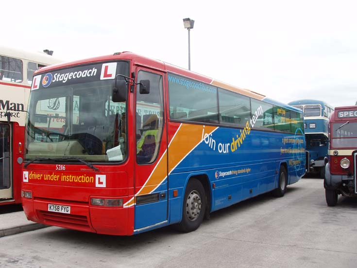Stagecoach Learner Driver bus