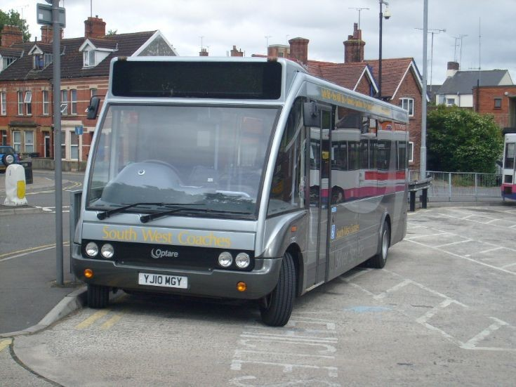 South West Coaches YJ10 MGY