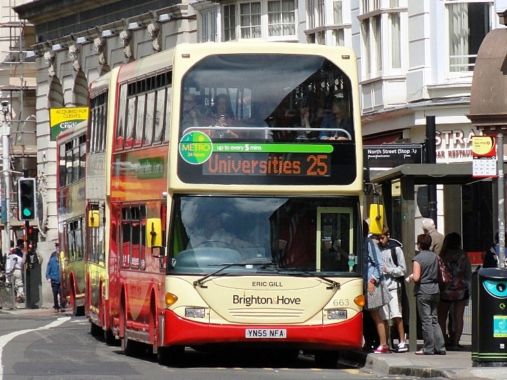Bus to Brighton Universities