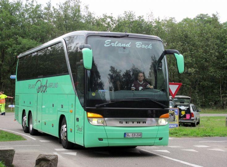 Setra coach of Erland Bock