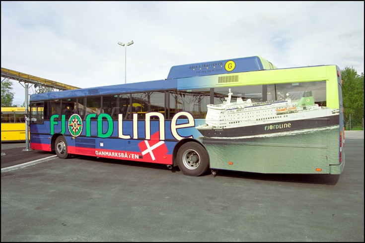 Fjord Line Bus