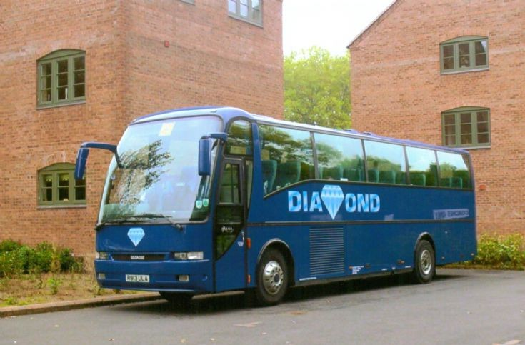 Diamond travel at Ironbridge
