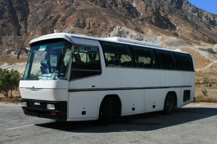 Neoplan coach in Greece