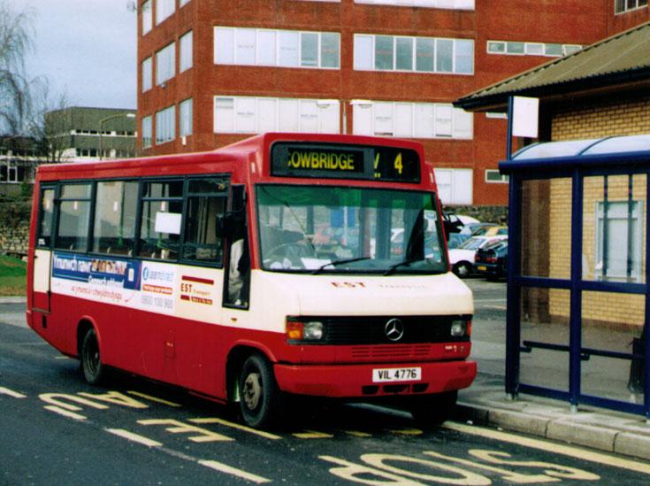 Est Bus Ltd mini bus line V4 Cowbridge