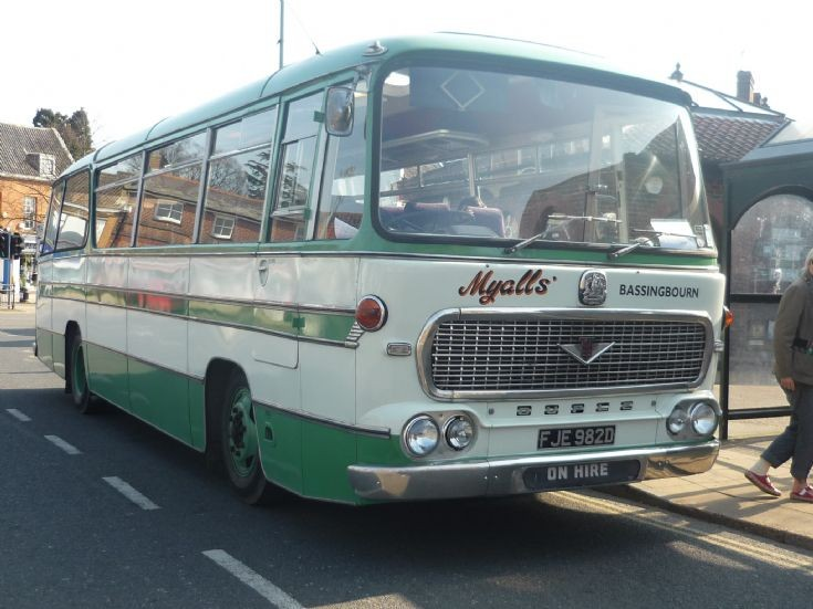 Old Myalls Bassingbourn  DUPLE Bus