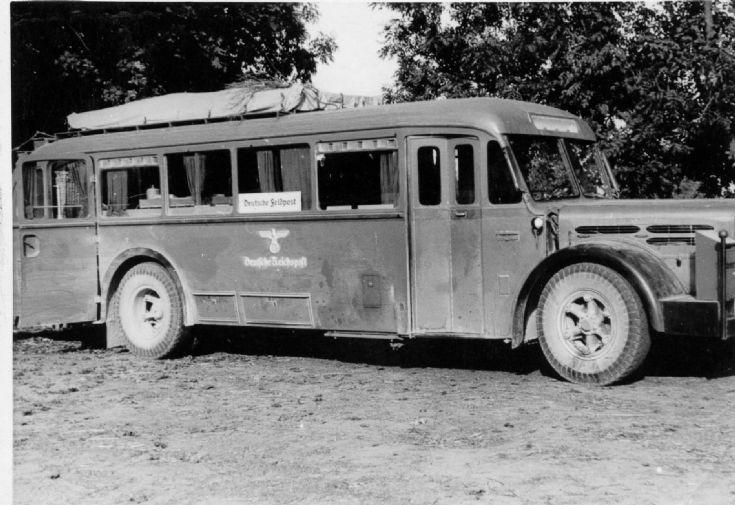 Reichspost bus