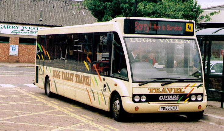 Bus and Coach Photos - Lugg Valley Travel Optare Solo bus