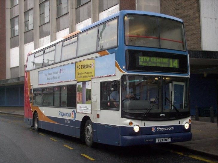 Stagecoach Dennis double deck bus