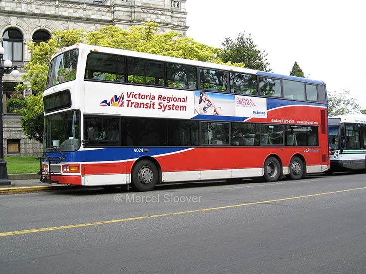 Dennis Double Deck bus Victoria BC Canada