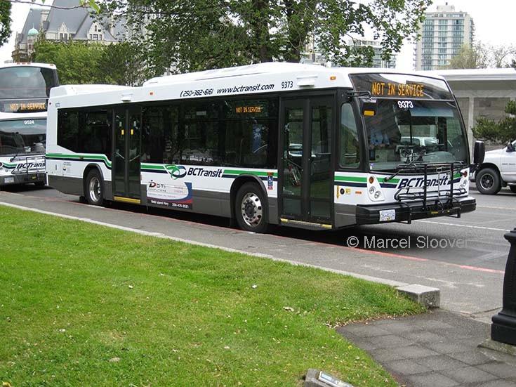 Nova bus 9373 BC Transit Victoria