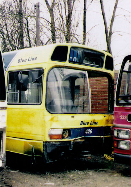 Photo of Retired Blue Line bus