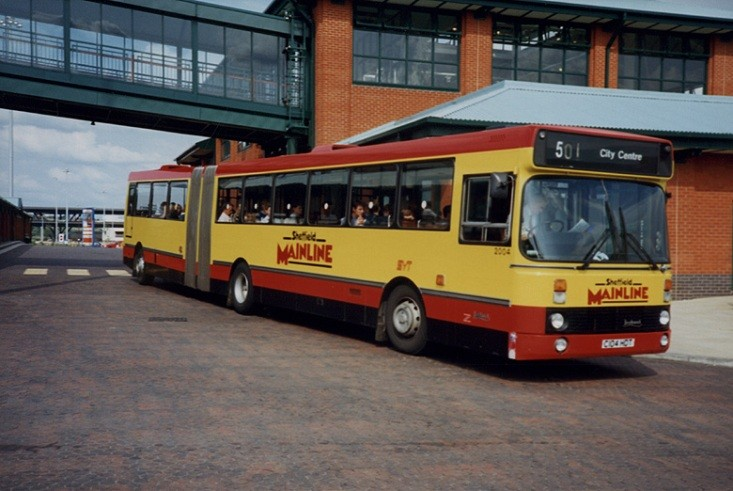 Sheffield Mainline bus 2004