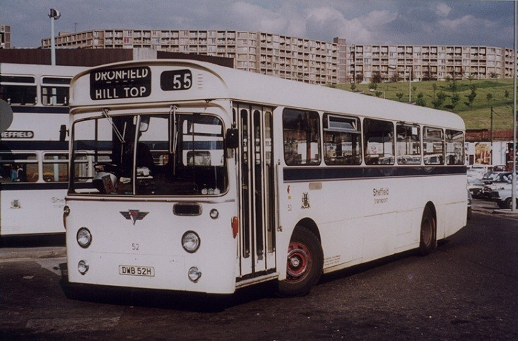 Sheffield Transport DWB52H