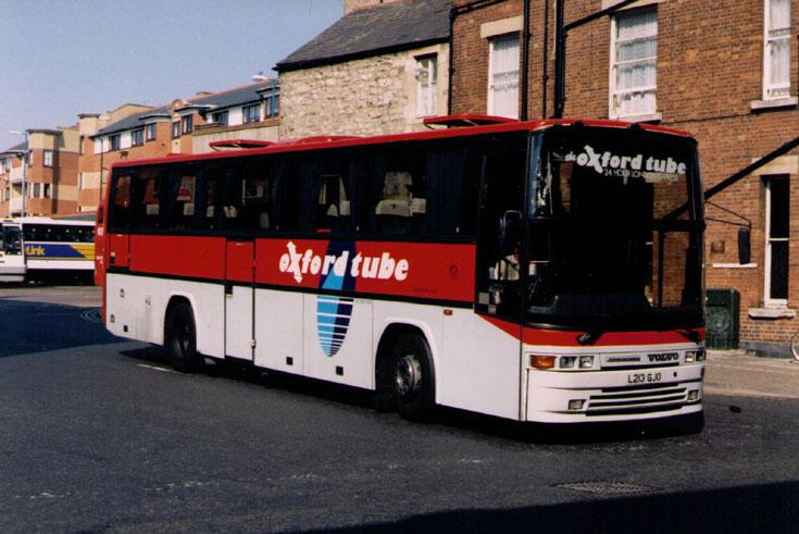 Oxford Tube Volvo Coach bus