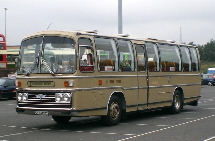 Glenton Tours AEC bus