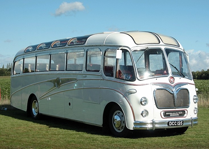 Restored Bedford SB DCC125